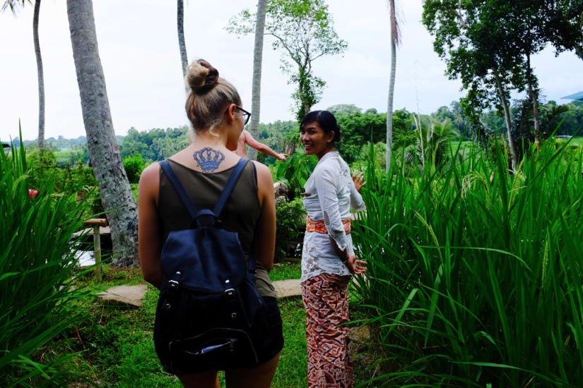 Giorno due: Ubud e la magia del BambùIndah.